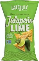 Late July Snacks Clasico Tortilla Chips product image.