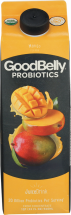 Goodbelly Organic Probiotic Drink 32 oz., selected varieties product image.