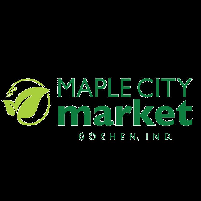 Maple City Market logo.