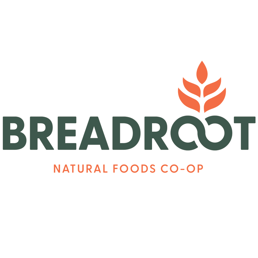 Breadroot Natural Foods Co-op logo.